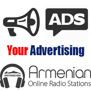 Your Advertising in Armenian Online Radio Stations